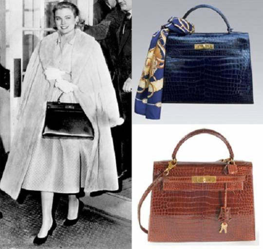 Sac à dépêches or the Kelly bag was the first leather handbag introduced by the company