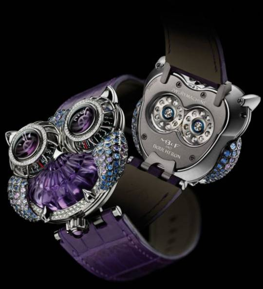 MB&F and Boucheron: jwlrymachine