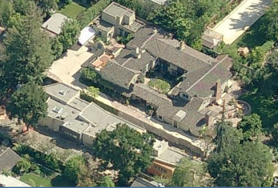 Larry page's house in California