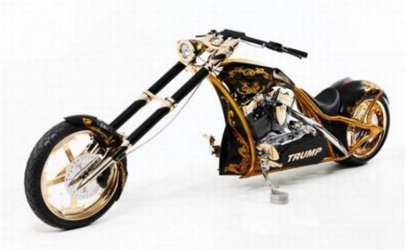 Custom Gold Chopper