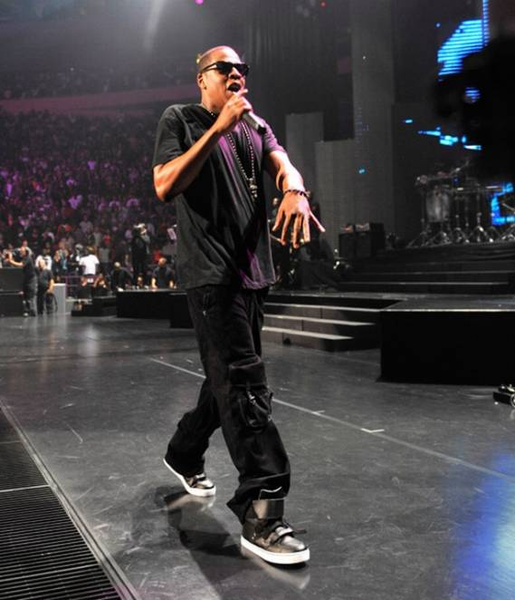 Jay-Z wears Radii 420 Top Sneakers