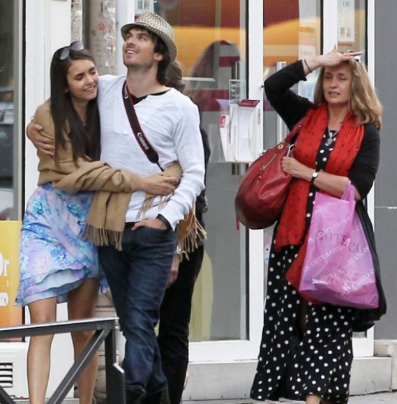 Ian Somerhalder was seen enjoying a pleasant walk on the streets of Paris with his girlfriend Nina Dobrev, last year.