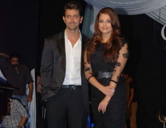 Burberry Prorsum's sheer lace dress with silk underlay was the one Aishwarya Rai Bachchan was spotted wearing.