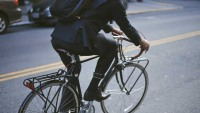 Biking to work in style now gets comfy!
