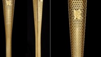 Golden torch for the 2012 London Olympics unveiled