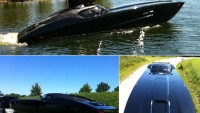 Corvette-inspired Powerboat for sale at $1.7 million