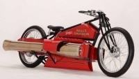 eBay to auction world's only twin jet-engine bike by Harley Davidson