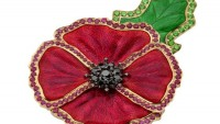 Garrard's $40k Poppy Brooch takes on the X Factor fashion trend