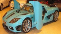 Special edition Koenigsegg CCXR Al-Thani up for sale