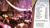 Guest runs up a $105,000 bill in Cavalli Club in Dubai
