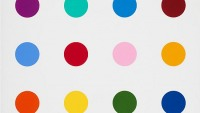 Damien Hirst's never-before-seen spot paintings go on sale