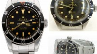 James Bond Rolex Submariner watches a hit at auctions
