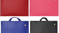 Munk Bogballe laptop bags comes with an optional 18K gold coin attached to the zipper of all bags