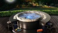 Cal Spas all-new R-Elements Hot Tub combine the best of backyard entertainment