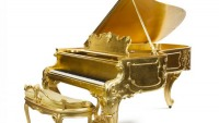 Steinway & Sons Louis XV style mahogany grand piano to sell for $200,000 at auction
