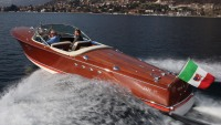 Custom-built 1960 Riva Tritone Special Cadillac Powerboat up for auction