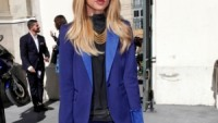 Blue Hutton Suit By Rachel Zoe