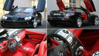 World class style alloyed with substance and precision: Brabus Mercedes McLaren SLR Roadster