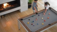 Fusion table – Pool table disguised as dining room table