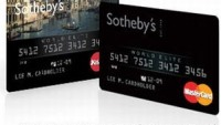 Sotheby's MasterCard lets people know you're stinking rich