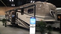 All new 2011 Jayco Pinnacle luxury fifth wheel
