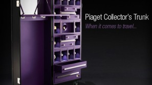 Prized watches deserve nothing better than a Piaget Collector Trunk