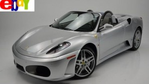 Ferrari F430 Spider F1 is now the most expensive item sold on eBay