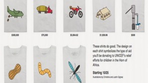 UNICEF unveils $300,000 designer T-Shirt for a noble cause