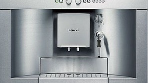 Siemens Built-in coffee system uses no counter space