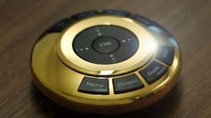 World's most expensive remote control in pure gold