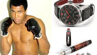 IWC & Montegrappa pays tribute to Muhammad Ali with collectibles for fans