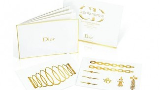 Dior 24-carat Gold Tattoos sell for $120 each