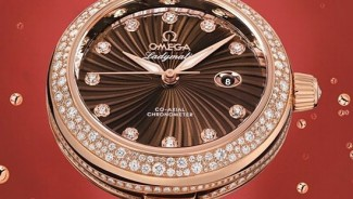 OMEGA Ladymatic wristwatch gets a diamond makeover for luxury shoppers