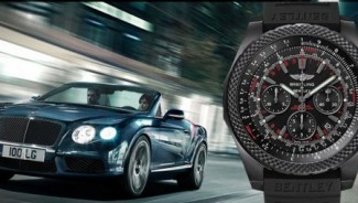 Bentley Light Body Midnight Carbon Watch Celebrates a Decade of Alliance with Breitling