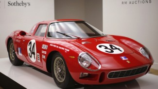 Rare Ferrari fetched a record price of $14.3M at Sotheby's