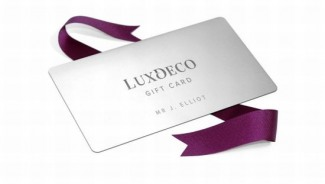 £10,000 Luxury Gift Card for discerning shoppers