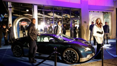 "The Very First Bugatti Lifestyle Boutique ""The Blue of London"" Opens in London, UK"