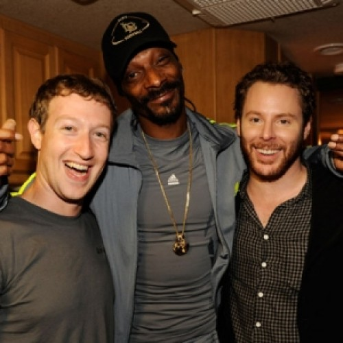 Sean and Mark Zuckerberg
