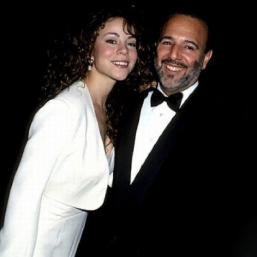 Tommy Mottola with his ex-wife Mariah Carey