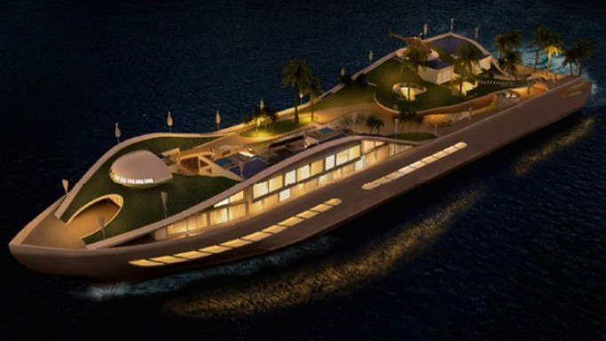Island (E) Motion- A Concept Yacht with a Difference