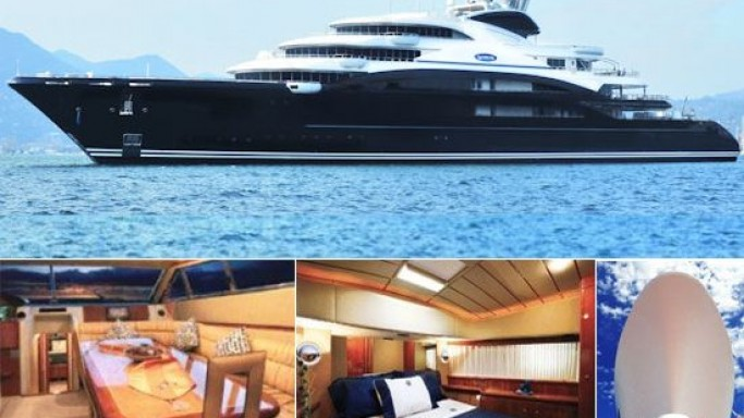 Fincantieri Serene megayacht is the 9th largest yacht in the world