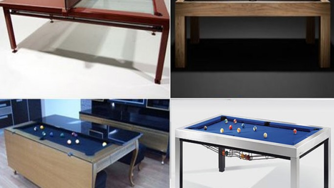 Top 5 convertible pool tables for luxury homes