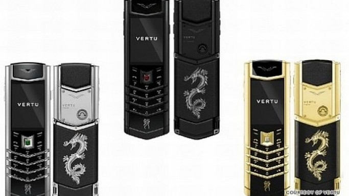 Limited edition Vertu Signature Dragon phones mark Year of the Dragon