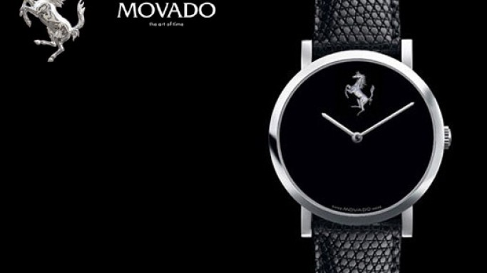 Ferrari teams up with Movado for the Scuderia Ferrari watch collection