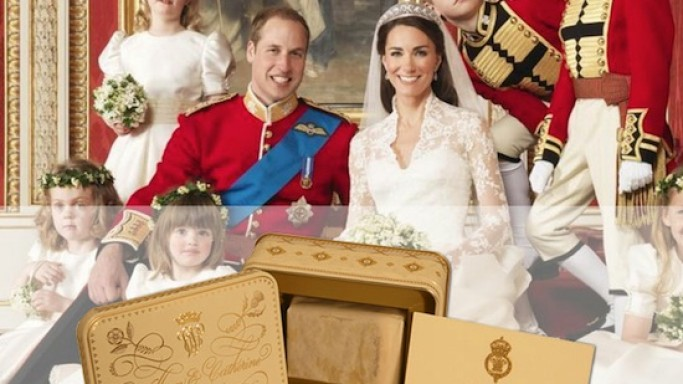 Royal wedding cake of Prince Williams and Kate Middleton to go on auction