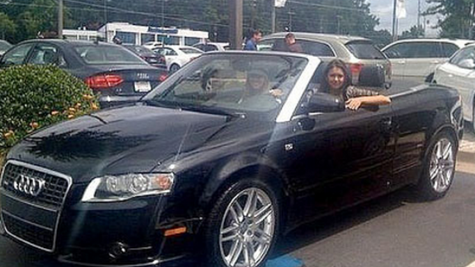 Nina Dobrev has been an ardent Audi fan for quite some time now and she is the proud owner of an Audi S4 Cabriolet