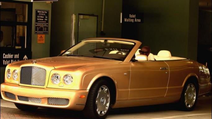 Recently, the song writer was spotted driving Bentley Azure