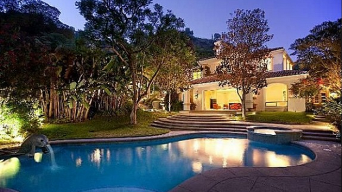 Sharon Stone mansion in Beverly Hills, Los Angeles, California, United States