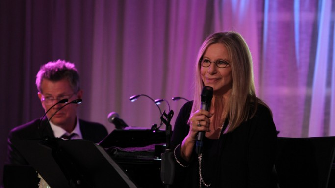 Barbra and David foster attends David Foster Foundation event