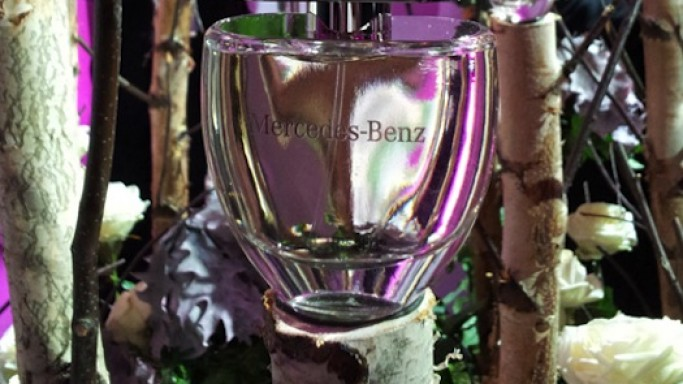 Mercedes-Benz debuts fragrance for women